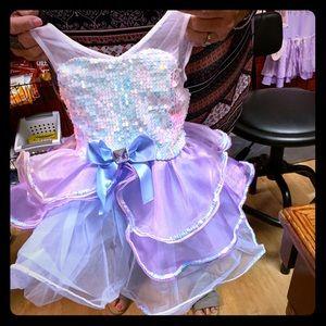4/5 unicorn recital dress,